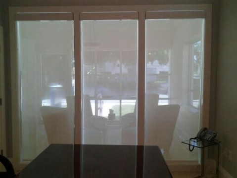 Miami roller shades home office commercial residential