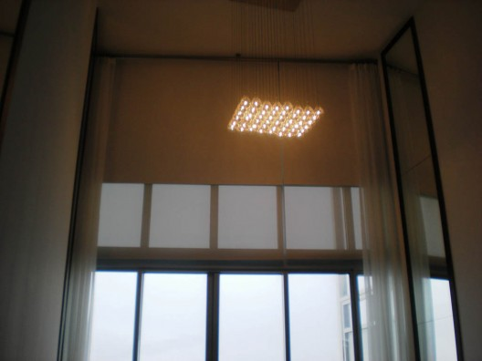 Motorized shades in downtown miami