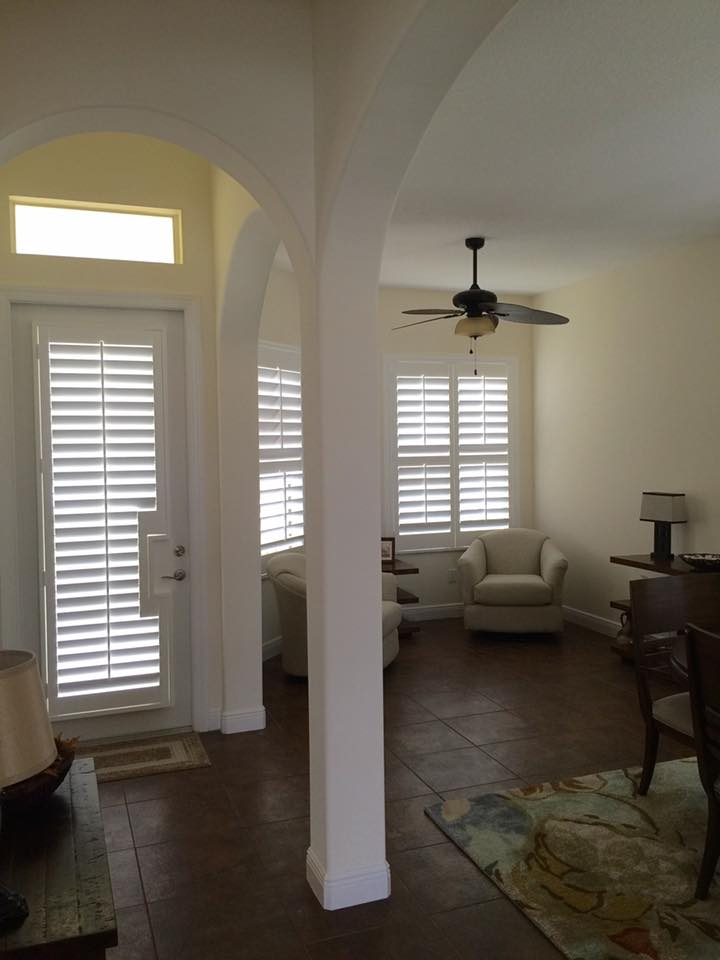 Key Biscayne - Plantation Shutters