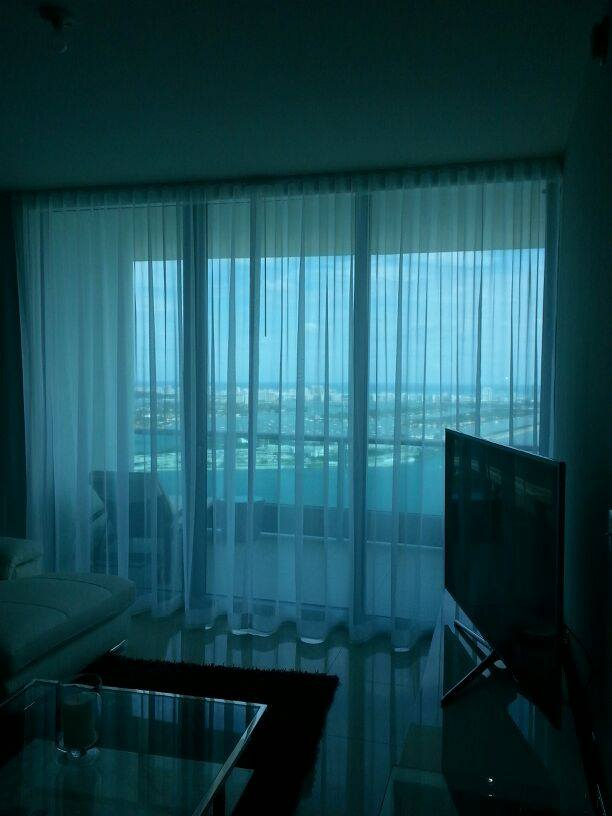 Sheer Curtains | Brickell, FL
