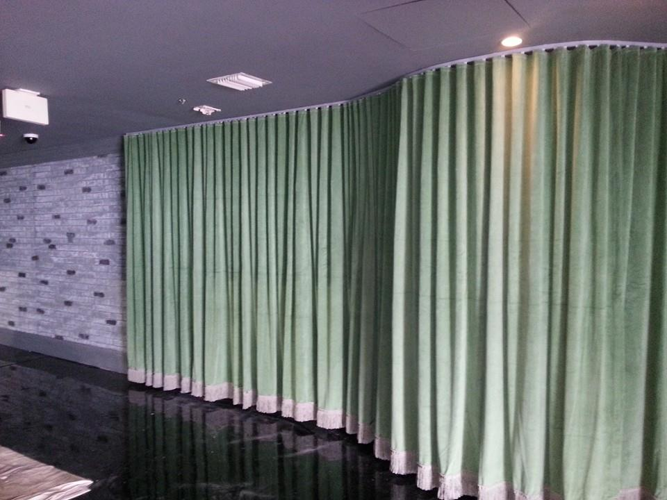 Custom Curtains Installation | Ivy Nightclub South Beach, FL