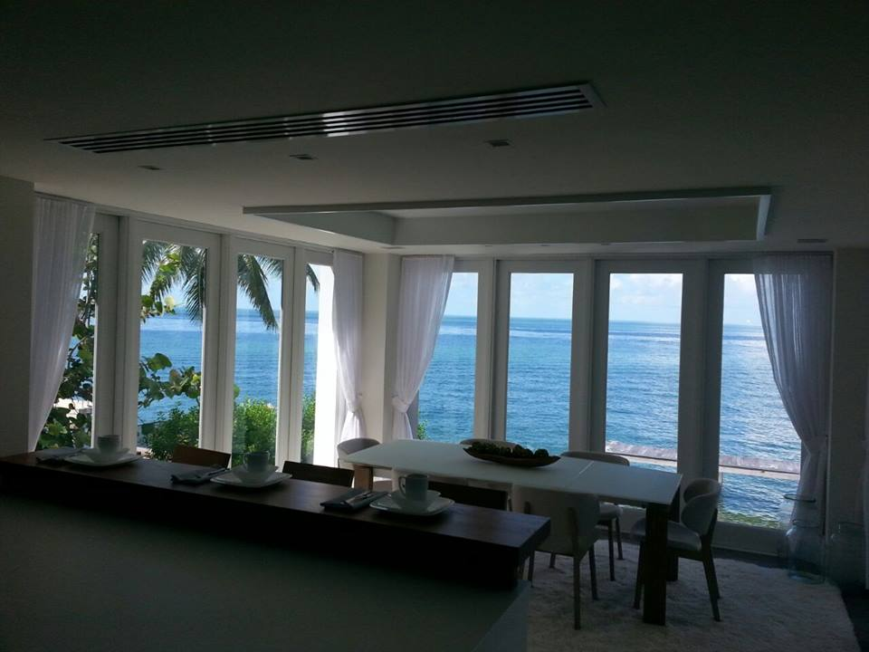 Custom Curtains | Mashta Point, Key Biscayne, FL