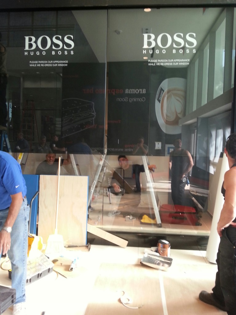 Hugo Boss Installation