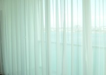 Brown Design | Custom Curtains with Ripplefold Treatment | Miami, FL